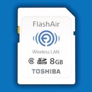 CES 2012 : Toshiba'dan FlashAir adında kablosuz LAN taşıyan SD bellek kartı