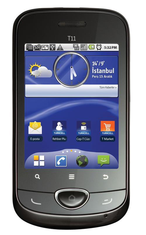 Turkcell, T11 modelini resmi olarak tanıttı