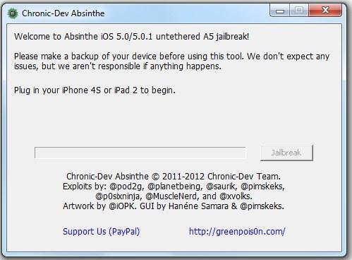 Absinthe A5 jailbreak çözümü artık Windows için de indirilebilir durumda