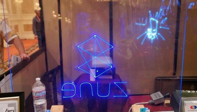 CES 2012 : Sun Innovations, laser yansıtma ekranı Transplay'i tanıttı