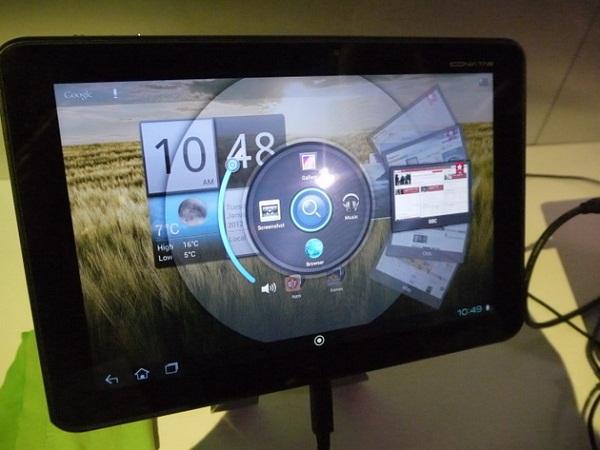 Acer Iconia Tab A510 Nisan ayında 500 Avro fiyatıyla piyasada olacak