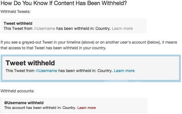 Twitter ülkelere göre sansürleme uygulamasına başlıyor