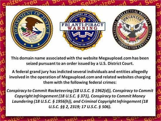 MegaUpload veritabanı 15 Şubat'ta silinecek