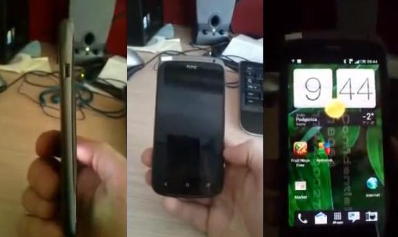 HTC'nin en ince modeli Ville'in yeni bir videosu ortaya çıktı