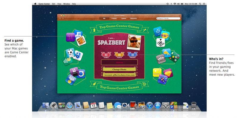 Apple masaüstüne Game Center'ı getiriyor, beraber oyun oynamak mümkün oluyor