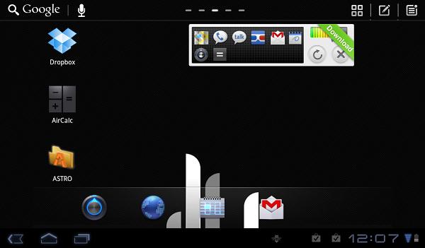 Go Launcher'ın tabletler için olan versiyonunun ikinci betası indirmeye sunuldu
