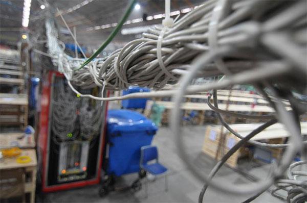 The Gathering 2012 dünyanın en hızlı internet bağlantısı için hazırlık yapıyor