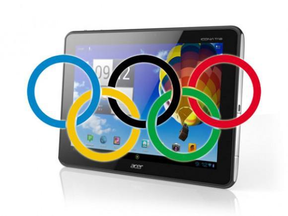 Acer, Iconia Tab A510 modelinin 2012 Olimpiyat Oyunları sürümünü tanıttı