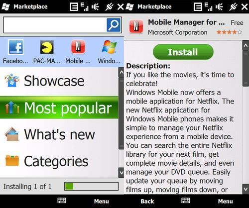 Windows Mobile 6.x sürümleri için Windows Marketplace yayın hayatına son veriyor