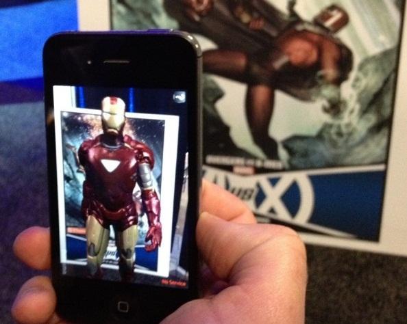Marvel mobil cihazlara farklı artırılmış gerçeklik uygulamaları sunmaya hazırlanıyor