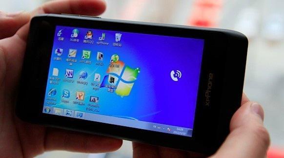 Windows 7 işletim sistemli ITG XpPhone 2 Çin'de tanıtıldı