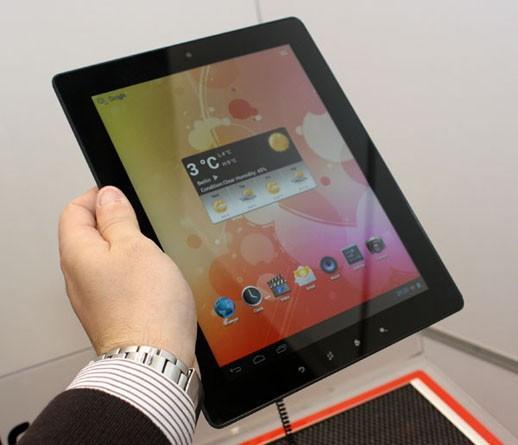 Prestigio'dan 9.7 inçlik Android 4.0 tablet