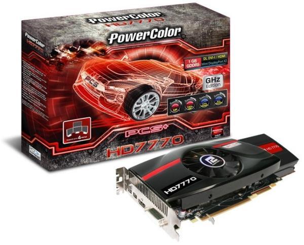 PowerColor'dan 1150MHz'de çalışan yeni Radeon HD 7770