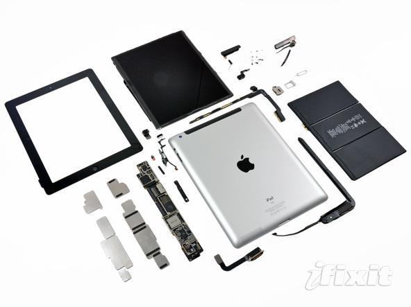 Yeni iPad modeli de iFixit masasına konuk oldu