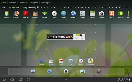 GO Launcher HD, Honeycomb ve ICS için Play Store'da yerini aldı