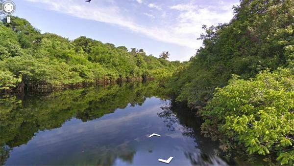Google Street View, Amazon haritasını nihayet kullanıma sundu