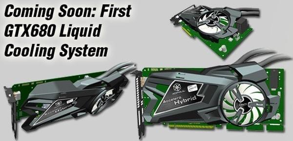 Inno3D melez soğutmalı GeForce GTX 680 modelini hazırlıyor
