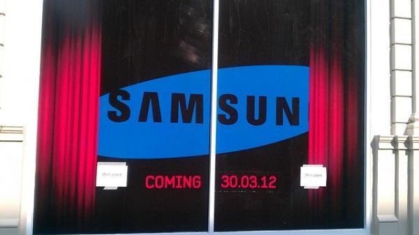 Samsung 30 Mart'ta İngiltere'de bir etkinliğe hazırlanıyor