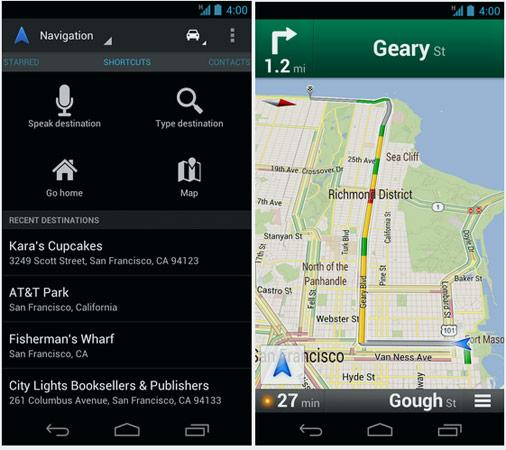 Android için Google Maps, 6.5 sürümüne güncellendi