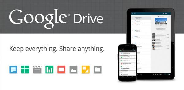 Google Drive, bulut depolama rekabetine resmen katıldı, Gmail kotası 10GB'a çıktı