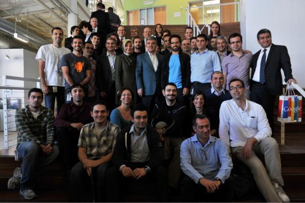Cumhurbaşkanı Abdullah Gül'den Google, Microsoft ve Apple'a ziyaret