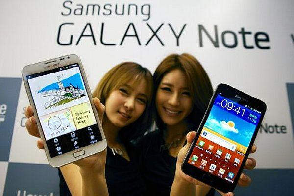 Samsung Galaxy Note 7 milyon, Galaxy S ailesi 50 milyondan fazla sattı