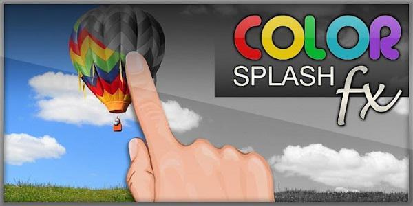 Android için Color Splash FX ile resimlerinize çeşitli renk efektleri uygulayın