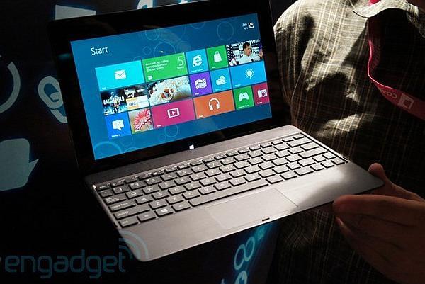 Computex 2012: Asus'dan Windows 8'li ve Tegra 3'li tablet bilgisayar