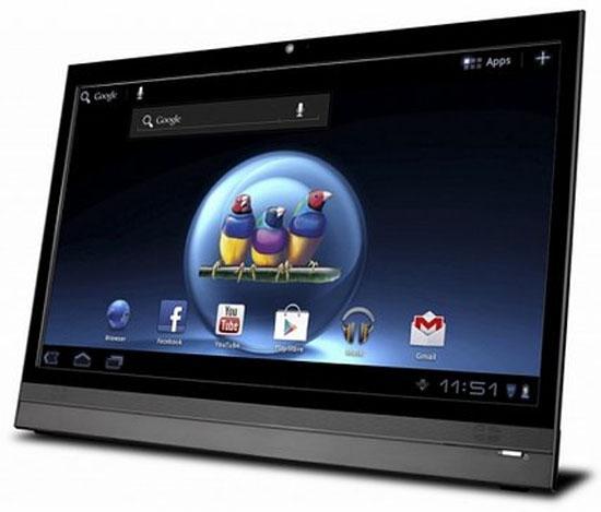 Computex 2012 : ViewSonic'in 22 inçlik Android'li ekranı boy gösterdi