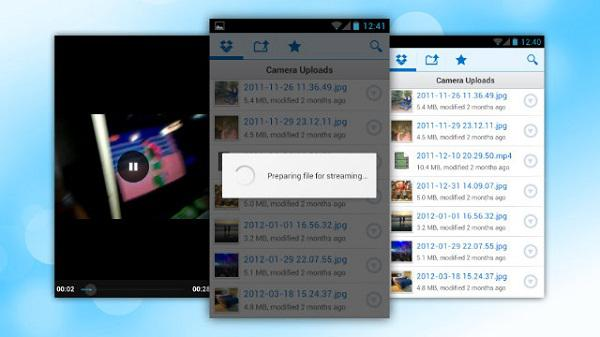 Dropbox uygulamasının ICS güncellemesi video akışlarını izleme imkanı getiriyor