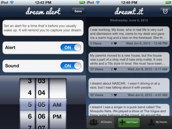Dreamt It uygulaması ile rüyalarınızı kaydedin