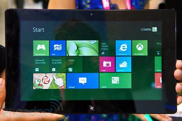 Computex 2012 : AMD, Trinity APU'lu ilk Windows tabletini gösterdi
