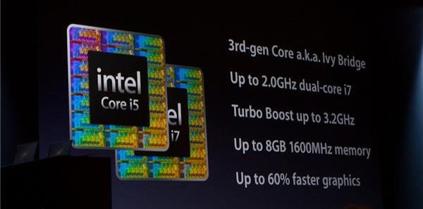 Apple, Ivy Bridge ile güncellenen Macbook Air ve Macbook Pro'ları WWDC 2012'de duyurdu