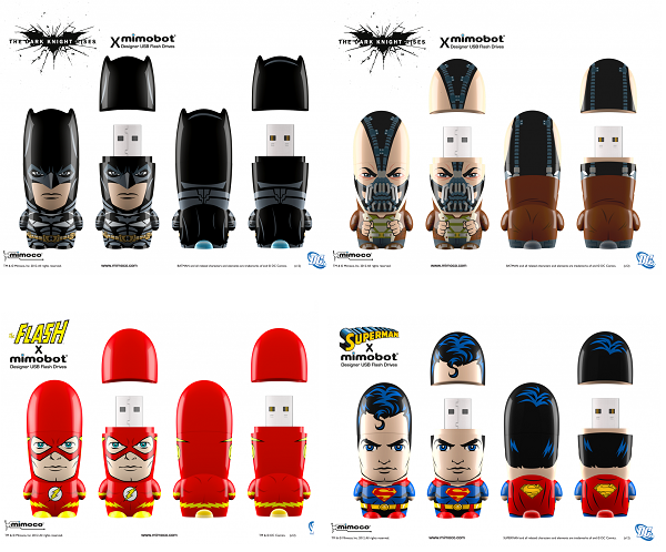 MIMOBOT bellekler koleksiyona The Dark Knight Rises filmini de ekledi