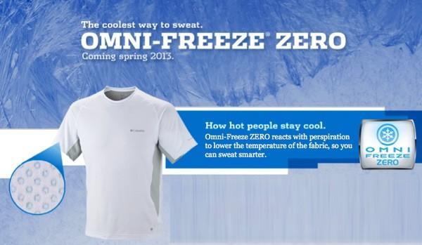 Columbia, Omni-Freeze ZERO giysi soğutma teknolojisini tanıttı
