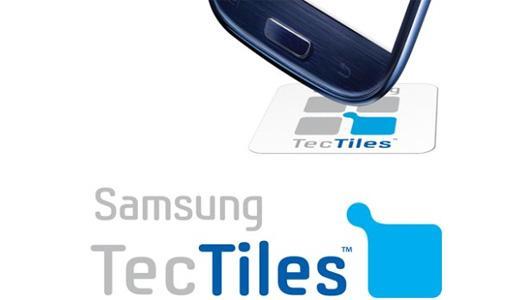 Samsung, NFC uyumlu Galaxy cihaz kullanıcılarını TecTiles programlanabilir NFC etiketi programına dahil ediyor