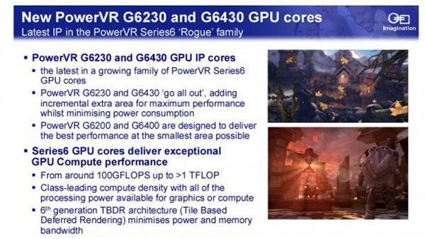 Imagination Technologies, PowerVR 6 serisi G6230 ve G6430 GPU'larını duyurdu