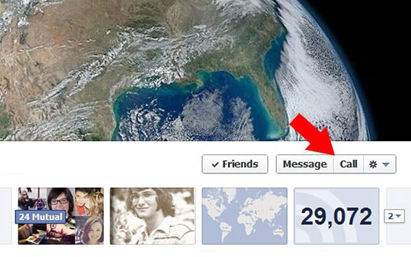 Facebook, çevrimiçi video çağrıları için profilde