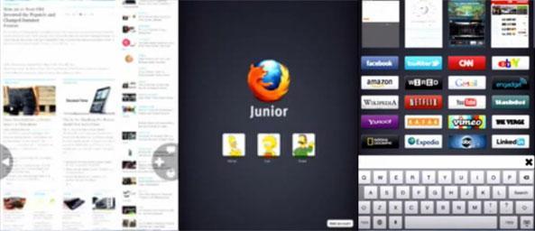 Mozilla, iPad için Junior adında bir tarayıcı hazırlıyor