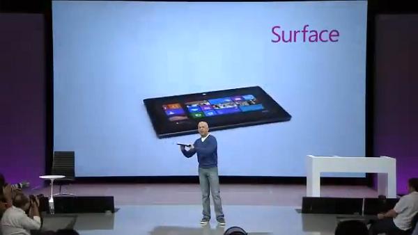 Microsoft'un Surface tabletlerini duyurduğu etkinlik internette yayınlandı