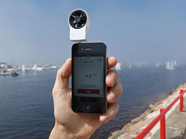 Shaka ile akıllı telefonunuz rüzgar ölçere dönüşüyor