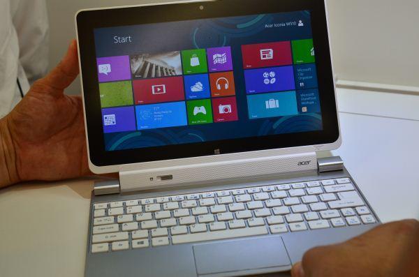 Acer, Surface tabletlerin başarısı konusunda şüpheli