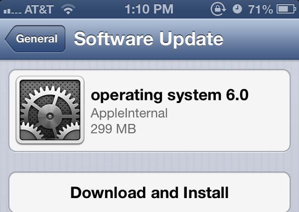 iOS 6 2. beta sürümü dağıtılmaya başlandı