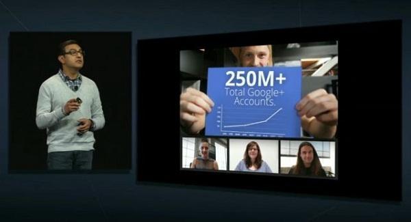Google+ 250 milyon kullanıcıya ulaştı, tablet versiyonları yayınlandı