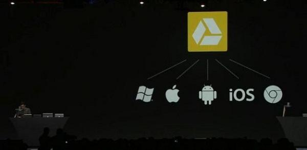 Google Drive da iOS'a geldi