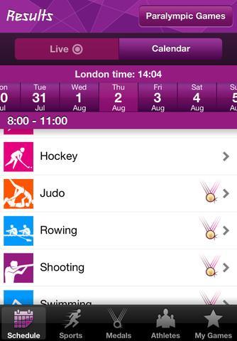 Londra olimpiyatlarının sonuçlarını cebinizden takip edin