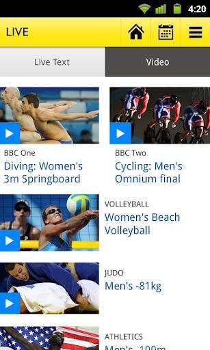 BBC, iOS ve Android için Olympics uygulamasını yayınladı