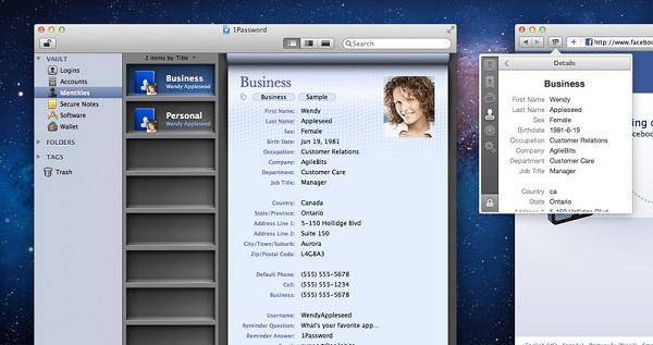 Mac için 1Password, Retina ekran desteğiyle güncellendi