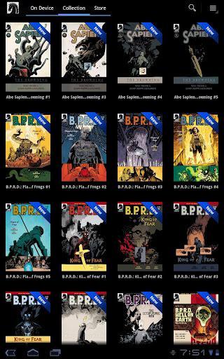 Dark Horse Comics ile tüm Dark Horse serileri elinizin altında