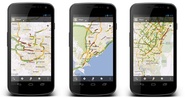 Google Haritalar, canlı trafik verisi desteğini 130 şehre daha götürüyor